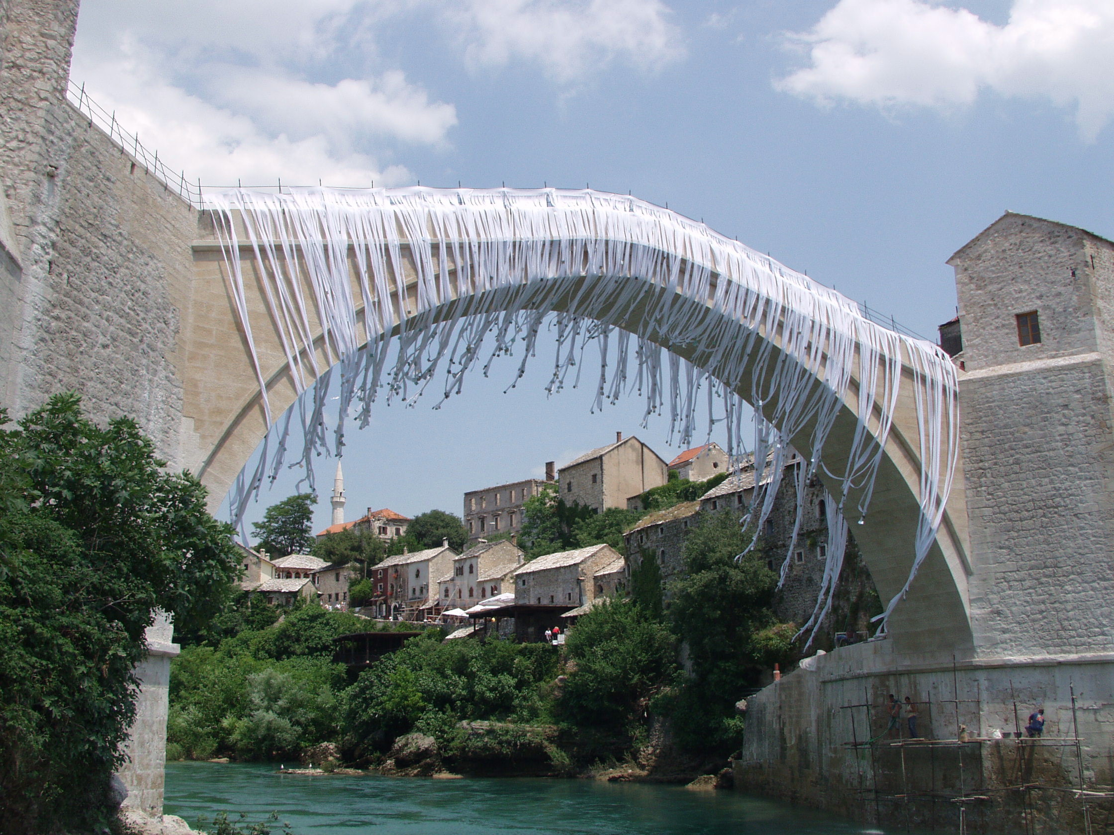Inauguration of Mostar's Old Bridge