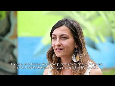 Natasa Konjevic for UN75: We Can Change Big Things On Our Own if We Do It Together