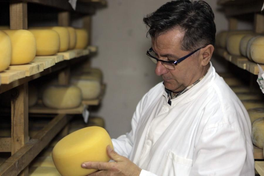 Smail Žilić started producing Kupres cheese two and a half years ago, and today he is already exporting it