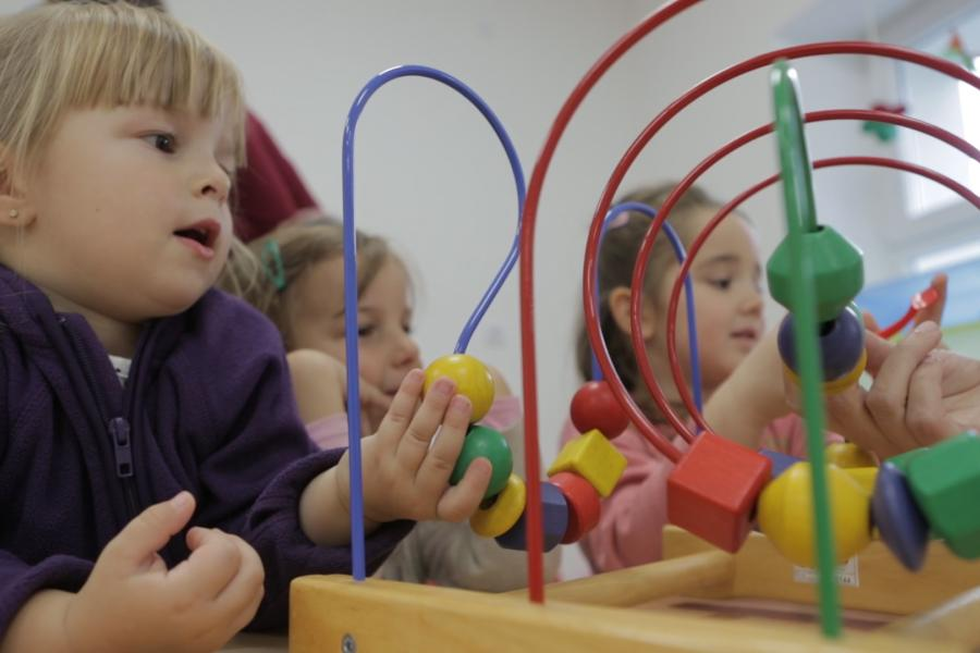 In Sunčani Most Kindergarten the youngest spend their days by playing and learning together