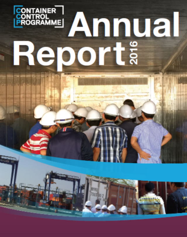 UNODC Container Control Programme 2016 Annual Report